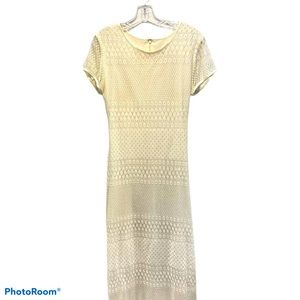 HARLOW Ivory long dress size 10